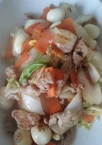 ☆白菜と豚肉の旨塩炒め☆