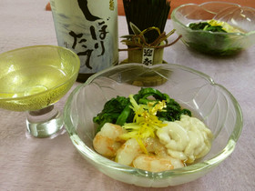 金沢春菊の酢の物