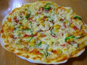 イースト無し☆クリスピーピザ
