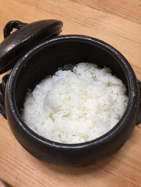 土鍋でごはん(時短&省エネ)