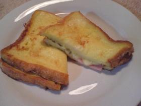 ランチに♪ハムチーズフレンチトースト