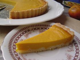 かぼちゃのチーズタルト