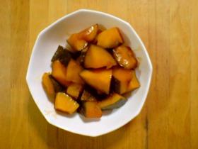 我が家の定番~かぼちゃ煮