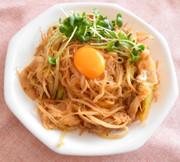 ダイエット★しらたきで作るキムチ焼きそばの写真