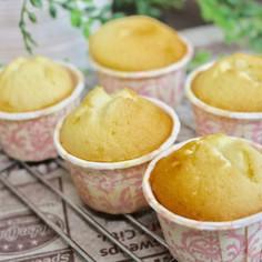 友加里×地養卵★卵白カップケーキ