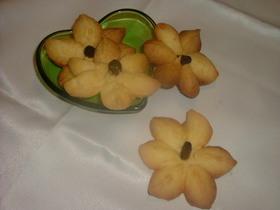 お花*のクッキー バターサブレ版
