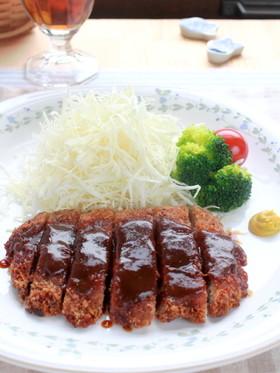 薄切り肉で『簡単味噌カツ』