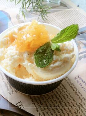 アイスクリームに、塩・コムハニー