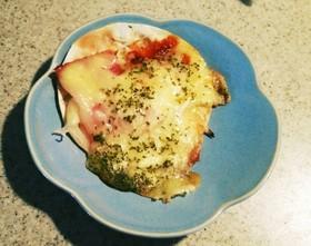 バーベキューでも簡単‼餃子皮ピザ