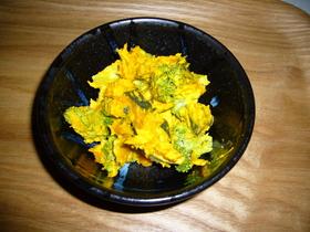 かぼちゃとブロッコリーの簡単サラダ♪