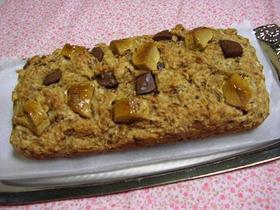 ノンオイルマシュマロ&チョコケーキ