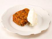 オレンジキャロットケーキの写真