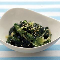 きゅうりとわかめの中華サラダ