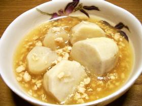 里芋の鶏そぼろ煮