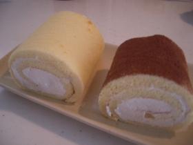 フワフワ幸せロールケーキ♡栗のクリームで