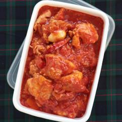 鶏肉のトマトじょうゆ煮込み