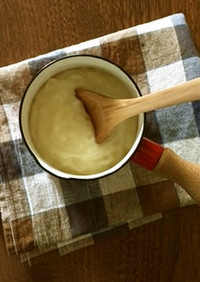 発酵ライスミルクのベシャメルソース