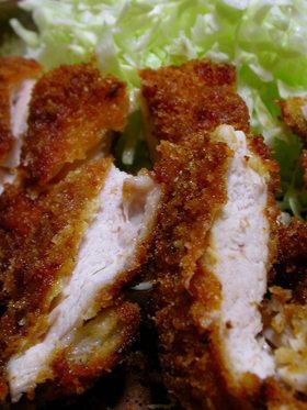 鶏胸肉のヘルシーチキンカツ