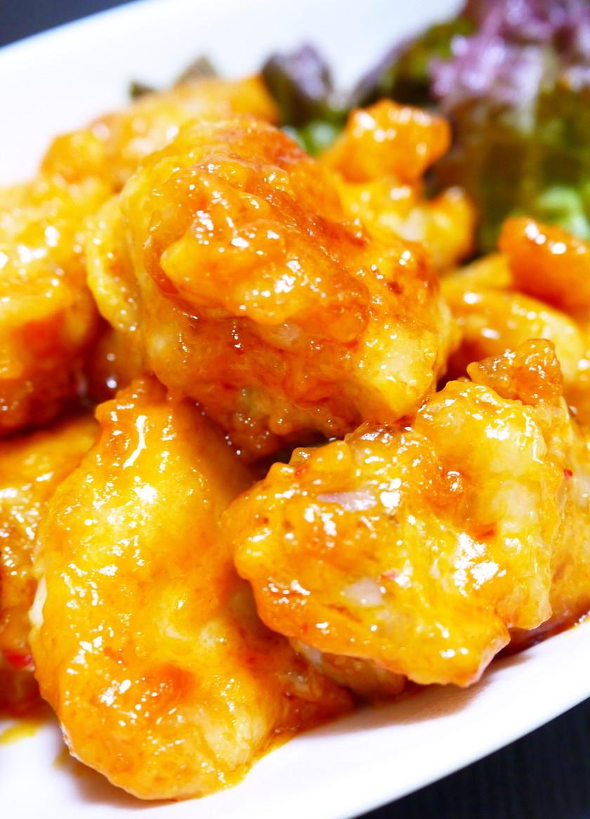 ぷりぷり鶏もも肉のケチャマヨ★豆板醤焼き