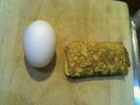 卵一つで玉子焼き(お弁当用)