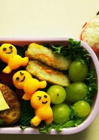 小学生お弁当 人形蒸し卵