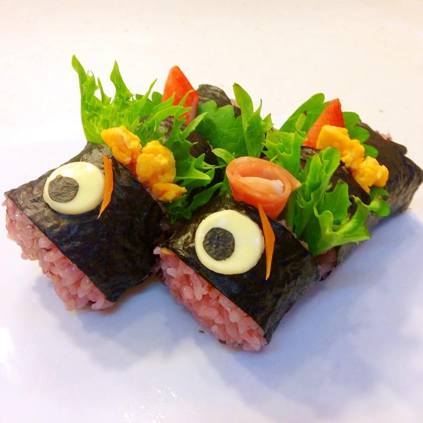 こどもの日 こいのぼり 運動会 寿司