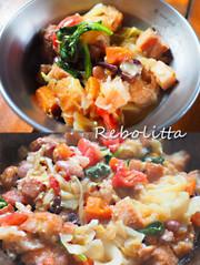 リボリータ ~キャンプで「食べる」スープの写真