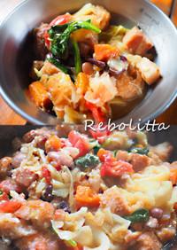 【キャンプ飯】リボリータ ~食べるスープ