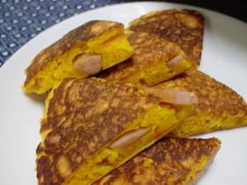 朝食☆キャロット パンケーキ