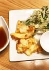 サクサク!山菜こごみと鯛の天ぷら