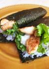子供が好きな照り焼きチキンのマヨ巻き寿司