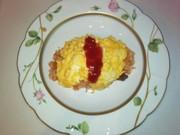 卵一つで簡単ふわふわオムライスの写真