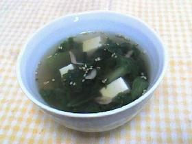 レタスのホットスープ