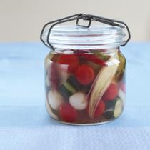 夏野菜のハニーピクルス