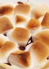 餃子の皮で簡単!マシュマロチョコピザ