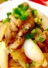 旬の新玉ねぎと豚肉のピリ辛生姜甘みそ炒め