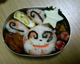 パッチール弁当(ポケモンキャラ弁)