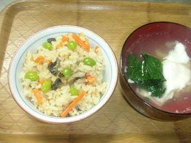山梨の煮貝を使って炊き込みご飯