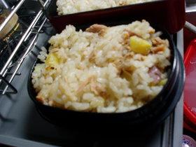 秋色さつま芋ご飯