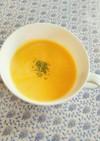 新玉ねぎと春人参で旬のポタージュスープ