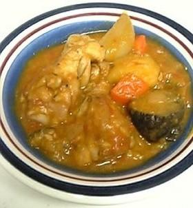 鶏手羽とじゃがいものトロトロトマト煮込み