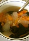 アマランサスの生姜スープ♪