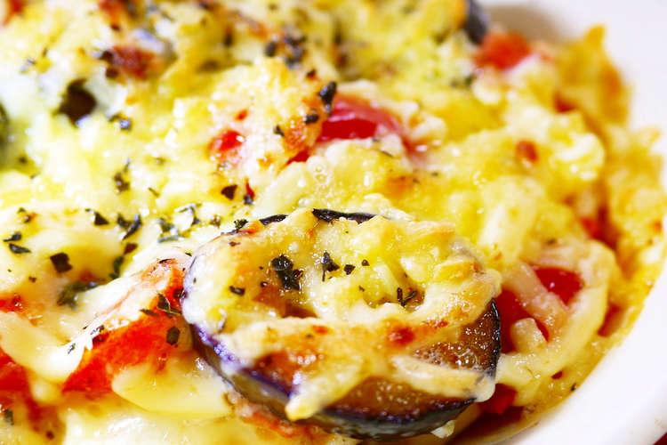 トマト チーズ なす