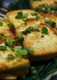 ご飯にお酒に、簡単沖縄島豆腐のステーキ