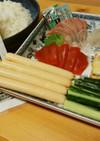 チーかまときゅうりの手巻き寿司♪