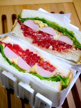 サンドイッチ!とろけるチーズタルタル
