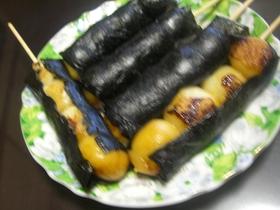 豆腐de醤油団子