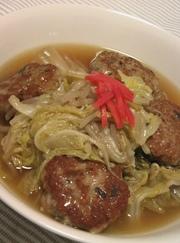 白菜とふわっふわ肉団子のスープ♡の写真