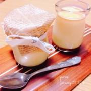 簡単!美味しい♡ゼラチンでミルクプリンの写真