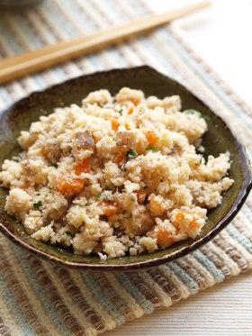 松茸風味の卯の花煮
